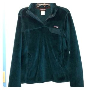 Patagonia green pullover
